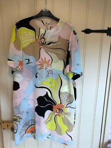 Emilio Pucci 100% silk patterned dress, size 10