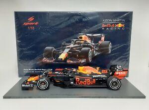 Model Car 1:18 Spark F1 Red Bull Honda RB16 Albon 2020 Die Cast Modeling