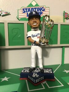 Mookie Betts Los Angeles Dodgers World Series Champion Bobblehead