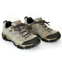 MERRELL Women's Moab J06030W Bark Tan Shoes Boots US 8.5 Wide Lace Up Hiking