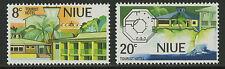 Niue  1975   Scott #   177-178     Mint Never Hinged Set