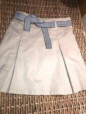 girls teen french toast size 14 skort dchool wear adjustable waist excellent con