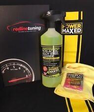 Power Maxed Non Acidic Alloy Wheel Cleaner 1 litre+Free Micro fibre,Shampoo Wax