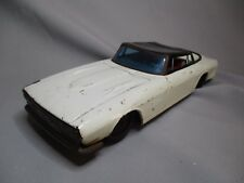 AG126 FORD MUSTANG TOLE MADE IN JAPAN 1/18 TN SN ou TAYCO NON IDENTIFIEE