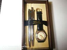 Pentel 50th Anniversary Mechanical Pencil & Ballpen & Watch Set RARE++++