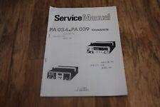 AUDIOLINE 340 341 Realistic 2000 2001 Retro service Manual Guide Photocopy