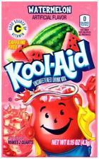 10 Packs WATERMELON FLAVOR Kool Aid Drink Mix Vitamin C popsicle fun