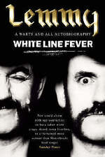 White Line Fever: Lemmy - Autobiography by Lemmy Kilmister (Paperback) New Book