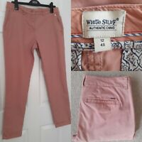 WHITE STUFF Size UK 12 EUR 40 Authentic Chinos Rust