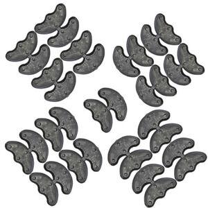 10Pc 5 Pairs Rubber Heel Savers Toe Plates Taps DIY Shoe Repair Pads replace