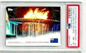 2012 Topps USA Olympics Sydney 2000 Games Opening Ceremony PSA 8