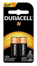 Duracell MN9100 Medical Battery 1.5 V Card 2 Size N Lot of 2 Packs =4 Batteries