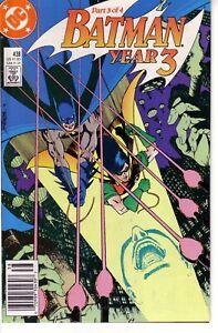 BATMAN #438 (FN-NM) Year Three