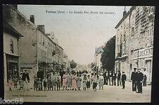 CPA 39 - Fraisans - La Grande Rue - sortie des ouvriers - 1913 - Jura - L. Waré