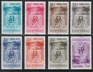 Venezuela   1952   Sc # C428-35(8val.)   Sucre   MNH   XF   (55498)