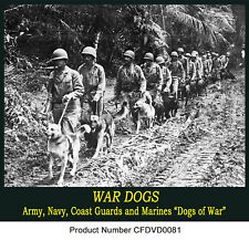 WAR DOGS Army USAF USCG Films WW2 Korea Vietnam War DVD