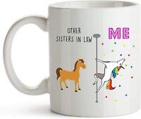 Sister In Law Coffee Mug Funny Birthday Ceramic Mug Coffee Cup Gift For Men W...