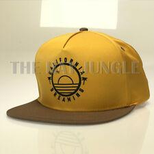 California Dreaming Snapback Hat Palm Tree Sun Rise Star Circle Cali Life Cap