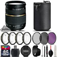 Tamron 28-75mm f/2.8 XR Di LD Lens For Canon DSLR Camera + 4PC Macro Kit + 32GB