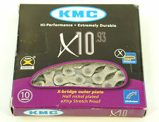 KMC X10.93 CHAIN 10 SPEED 116 LINKS, SILVER