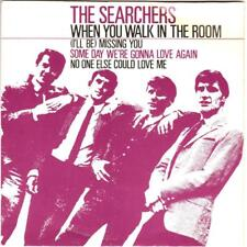 THE SEARCHERS EP, WHEN YOU WALK IN THE ROOM*I'LL BE MISSING YOU +,1964 PYE 24204