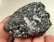 Hausmannite crystals in matrix. Natural mineral. 150 gms (5.29 oz).