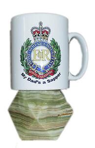 Royal Engineers personalised Mug - My Dads a Sapper
