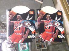 2-Mint 1995 McDonald's Michael Jordan SPACE JAM French Fry Box CHICAGO BULLS