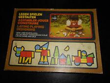 Original DDR Lege- und Würfelspielspiel : Legen Spielen Gestalten / ab 4 Jahre