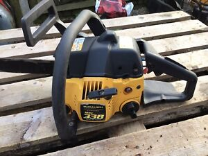 McCulloch Mac 338 Chainsaw Breaking For Parts - NOT COMPLETE CHAINSAW FOR 99p