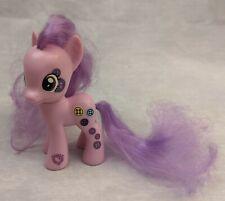 """My Little Pony G4 FiM 3"""" Brushable BUTTON BELLE Purple"""