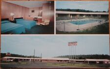 Calhoun, GA 1970 Chrome Postcard: Shepherd Motel & Restaurant - Georgia