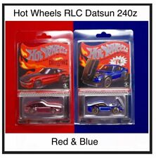 Hot Wheels Datsun Red 240z & Selections Blue '72 Datsun 240z Both RLC Exclusive