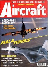 Aircraft Illustrated 2003 December Swiss Air Force,Concorde,Antonov An124,Raptor