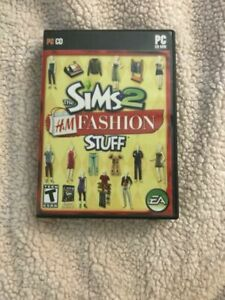 The Sims 2 H & M FASHION Expansion Pack computer game 2007 Rated T PC CD-ROM