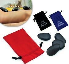 Massage Basalt Stones Rocks Heat Therapy In Pouch Treatment Home Spa Mothers Day