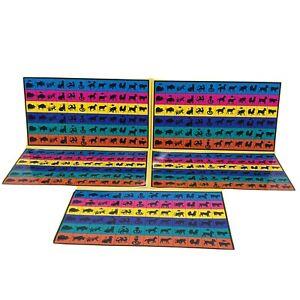 Mandarin Board Game | x5 Tile Collection Card