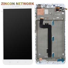 "Xiaomi Mi Max 2 2nd Gen 6.44"" LCD Display + Touch Screen Digitizer w frame White"
