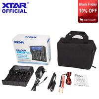 New XTAR DRAGON VP4 Plus LCD fast battery charger USB Output REFRESH TEST