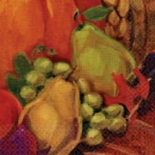Amscan Harvest Still Life PAPER BEVERAGE NAPKINS  USA