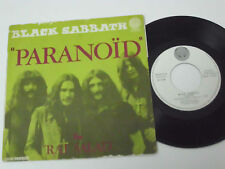 "BLACK SABBATH Paranoid -1971 FRANCE 7"" single - UNIQUE PICTURE SLEEVE rare"