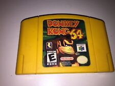 DONKEY KONG For Nintendo N64 Used Tested