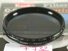 Orig. Kenko Polfilter Filter Polarizing Polarizer Circular Slim 43mm 43 E43 (6)