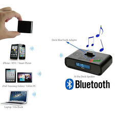 Bluetooth Music Audio Stereo Receiver Adapter for iPhone iPad iPod Dock Speaker