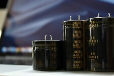 2 pcs Nichicon KG capacitor 63v 10000uf Snap-in Audio Grade 35x50mm