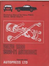 VOLVO P1800 , 1800S & 1800E COUPE ( 1960 - 1971 ) OWNERS WORKSHOP MANUAL * NEW *