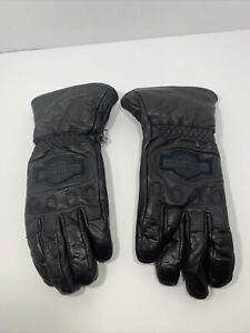 Harley-Davidson Men's Windshielder Gaunlet Leather Gloves Medium 98158-96VM