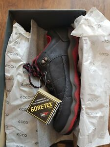 Ecco Ulterra mens  yak leather Gore Tex shoes new in box