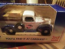 Liberty Classics 1940 Carquest Ford Pickup Truck Coin Bank Diecast Metal new