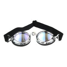 Motorradbrille blau getönt Fliegerbrille für z.B. MZ ES TS BK RT ETZ Simson NSU